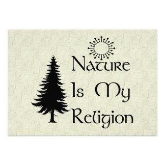 Religión natural anuncio personalizado