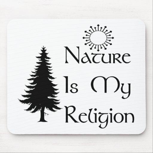 Religión natural mousepads
