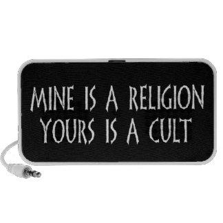 ¿Religión o culto? Mp3 Altavoces