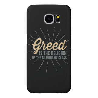 Religion of Greed Samsung Galaxy S6 Cases