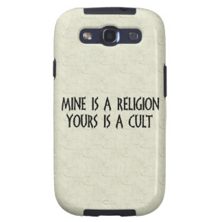 Religion Or Cult? Samsung Galaxy S3 Cases