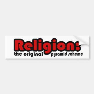 Religión Pegatina Para Auto