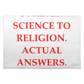 RELIGION CLOTH PLACE MAT