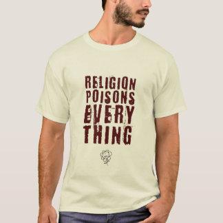 Religion Poisons Everything, Large T-Shirt