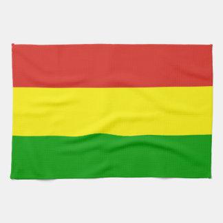 religión rastafarian de Jamaica de la toalla de la