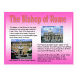 Religion, Roman Catholic, Bishop of Rome Post Card