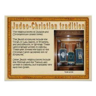 Religion,  Scripture, Judeo-Christian tradition Poster