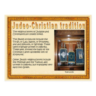 Religion,  Scriptures, Judeo-Christian tradition Postcard