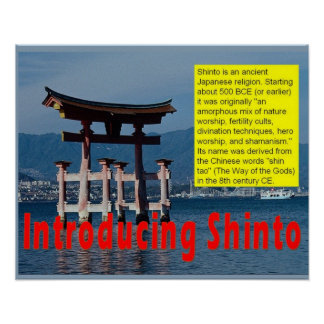 Religion,Shinto, Introduction Poster