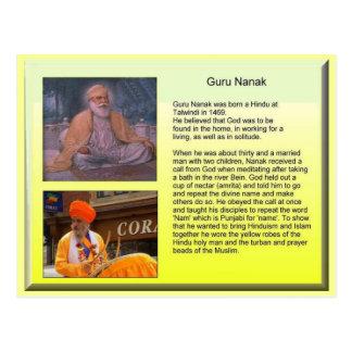 Religión, Sikhism, Guru Nanak Tarjeta Postal