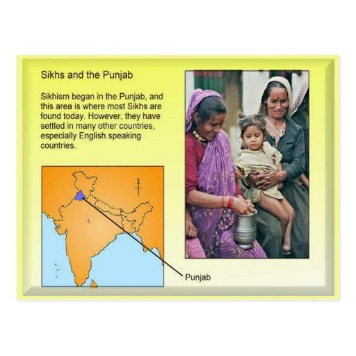 Religión, sikhs y el Punjab Tarjetas Postales