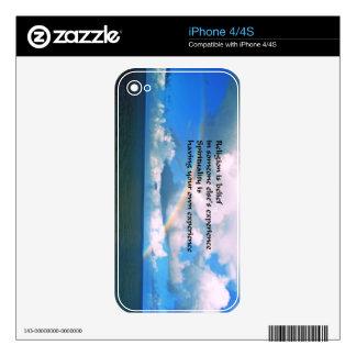 Religion Spirituality iPhone 4 Decal
