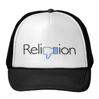 Religion? Thumbs Down! Trucker Hat