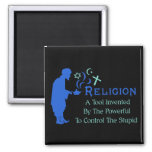 Religion Tool 2 Inch Square Magnet