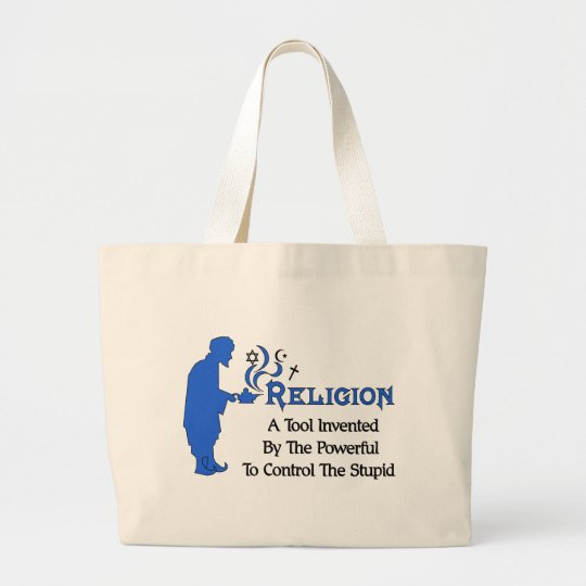 Religion Tool Large Tote Bag