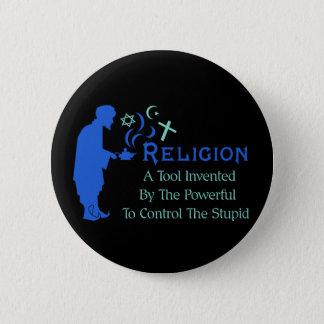Religion Tool Pinback Button