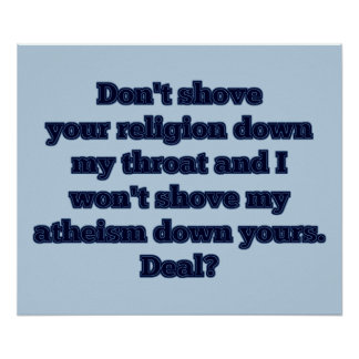 Religion VS. Atheism, part 2 Poster