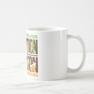 Religion Vs Evolution Coffee Mug