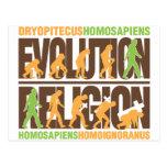 Religion Vs Evolution Post Cards
