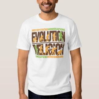 Religion Vs Evolution Shirt
