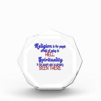 Religion VS. Spirituality Award