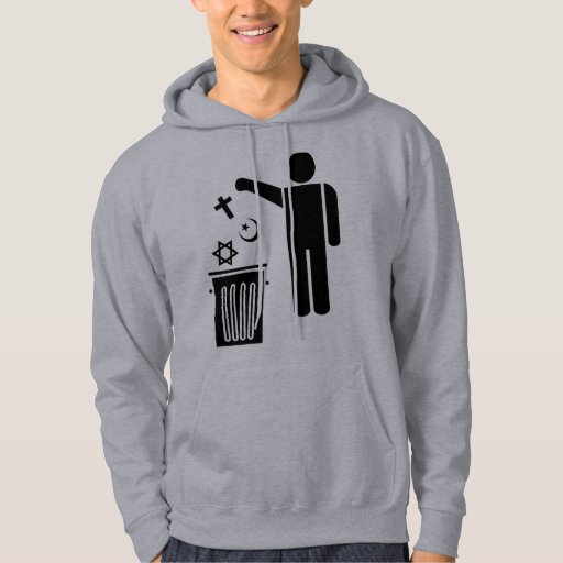 Religion Wastebin Hooded Pullover