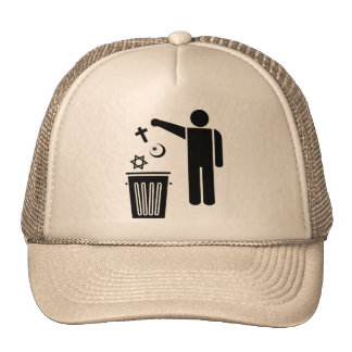 Religion Wastebin Trucker Hat