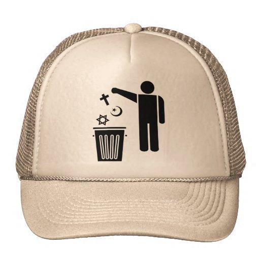 Religion Wastebin Trucker Hat