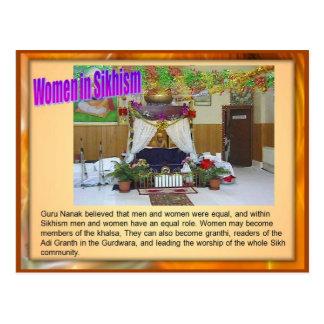 Religion, Women in Sikhism Postcard