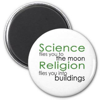 Religión y ciencia imanes