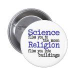 Religión y ciencia pin