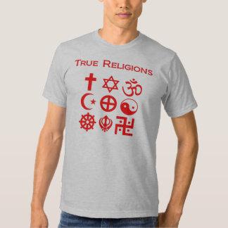 Religiones verdaderas remera