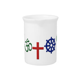 Religions Drink Pitcher