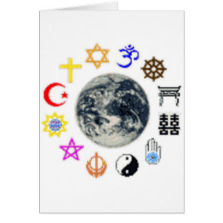 RELIGIONS of the WORLD Card