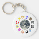 RELIGIONS of the WORLD Keychains
