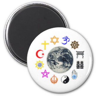 RELIGIONS of the WORLD Magnet