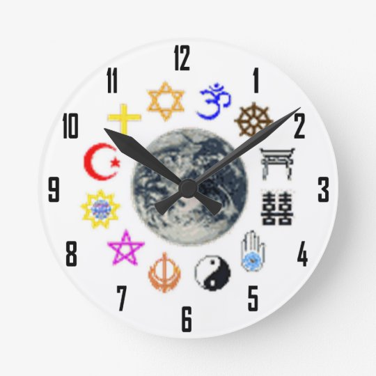 RELIGIONS OF THE WORLD ROUND CLOCK