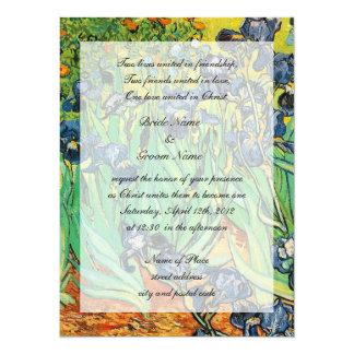 Religions wedding, Vincent van Gogh,Irises Card