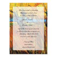 Religions wedding. Willows at Sunset Custom Invites