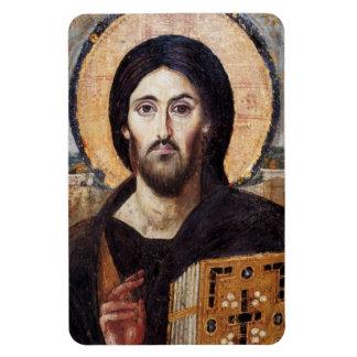 Religioso Cocina del icono de Jesucristo Imán Foto Rectangular