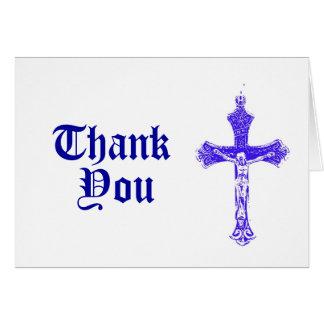 Religioso gracias cardar felicitación