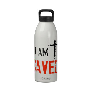 Religioso me ahorran botellas de agua reutilizables