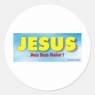 Religiosos 1 classic round sticker