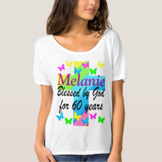 RELIGIOUS 60TH BIRTHDAY PERSONALIZED T SHIRT