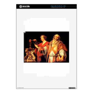 Religious allegory by Jacob Jordaens Decal For iPad 2