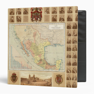 Religious and Secular Figures of Mexico 3 Ring Binder