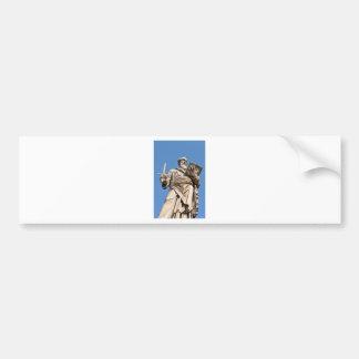 Religious architecture in Vatican, Rome, Italy Bumper Sticker