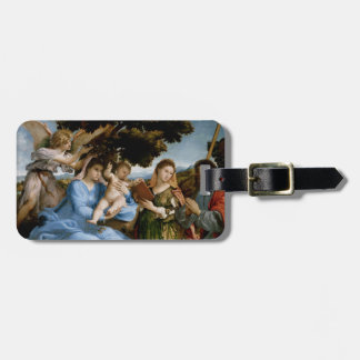 Religious Art custom luggage tag