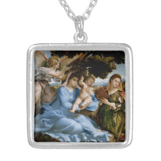 Religious Art necklace