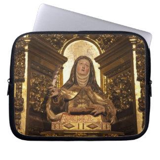Religious art representing Santa Teresa 2 Computer Sleeve